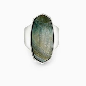 Kendra Scott Abalone Cocktail Ring